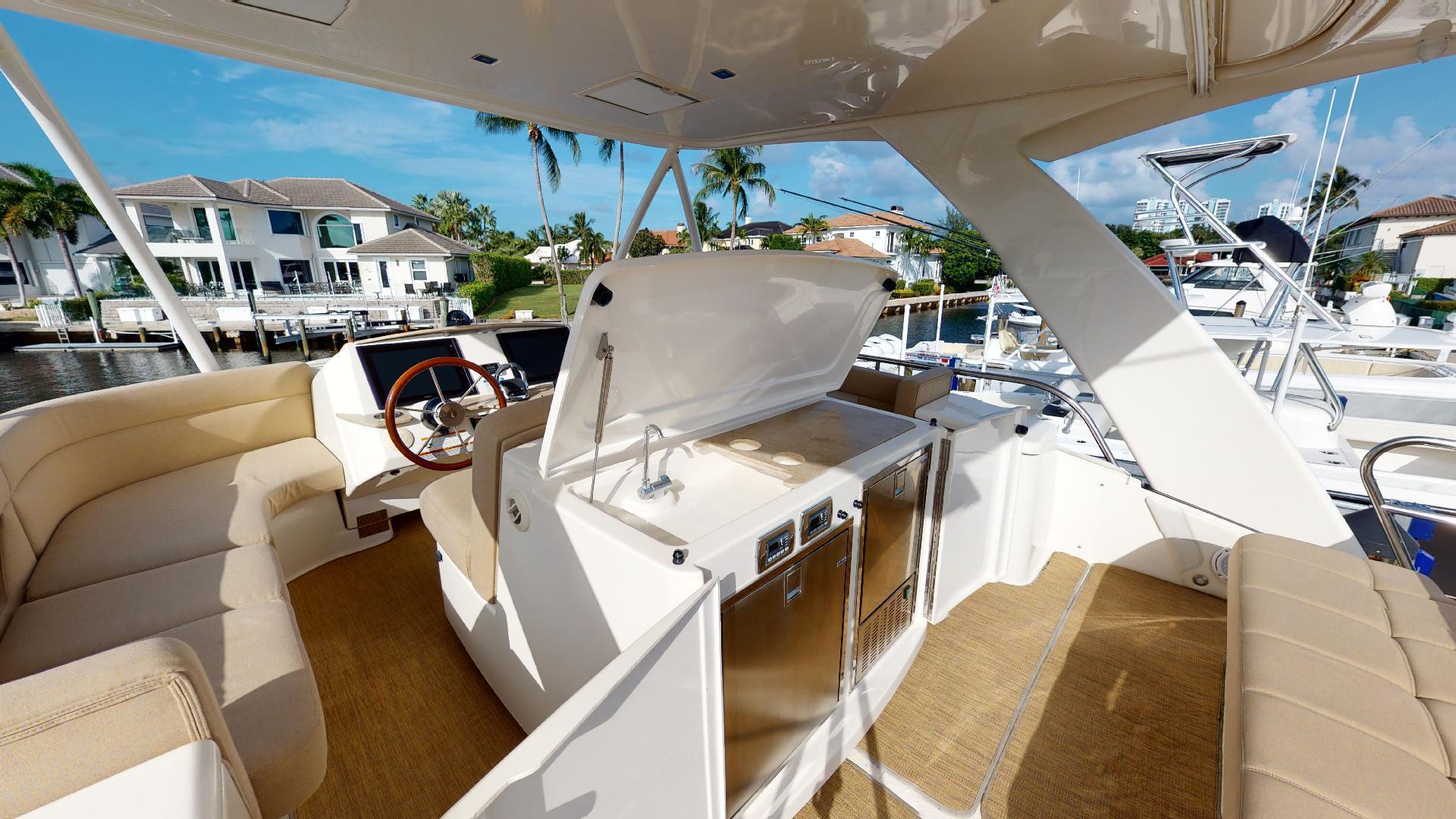Tiara Yachts-50 Flybridge 2015-Khatch You Later North Palm Beach-Florida-United States-Flybridge-1509434 | Thumbnail