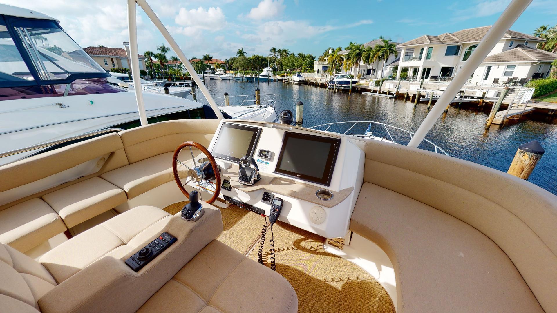 Tiara Yachts-50 Flybridge 2015-Khatch You Later North Palm Beach-Florida-United States-Flybridge-1509437 | Thumbnail
