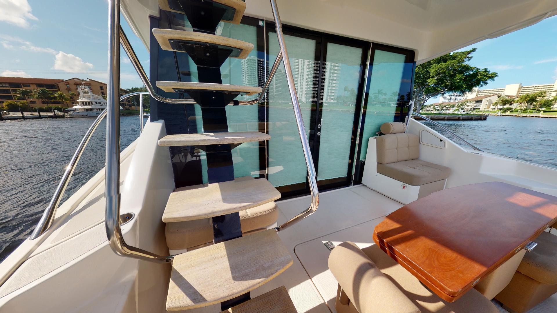 Tiara Yachts-50 Flybridge 2015-Khatch You Later North Palm Beach-Florida-United States-Aft Deck-1509444 | Thumbnail