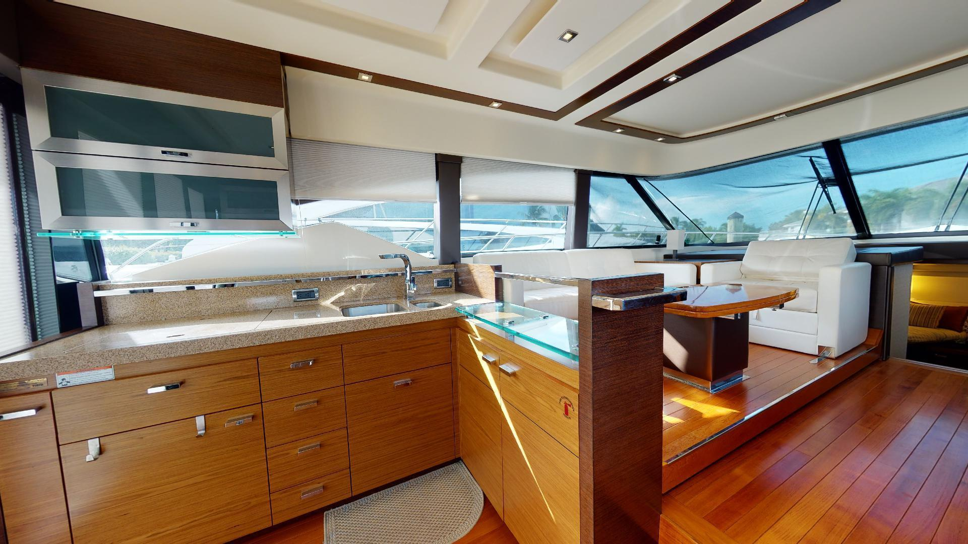 Tiara Yachts-50 Flybridge 2015-Khatch You Later North Palm Beach-Florida-United States-Galley-1509417 | Thumbnail