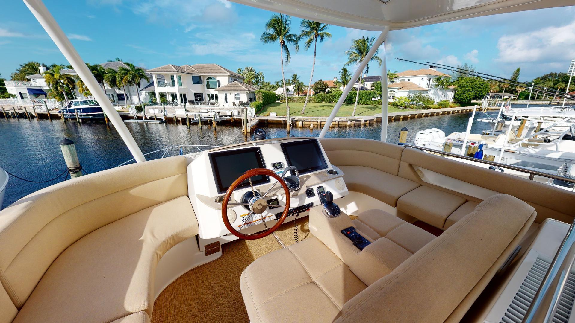 Tiara Yachts-50 Flybridge 2015-Khatch You Later North Palm Beach-Florida-United States-Flybridge-1509436 | Thumbnail