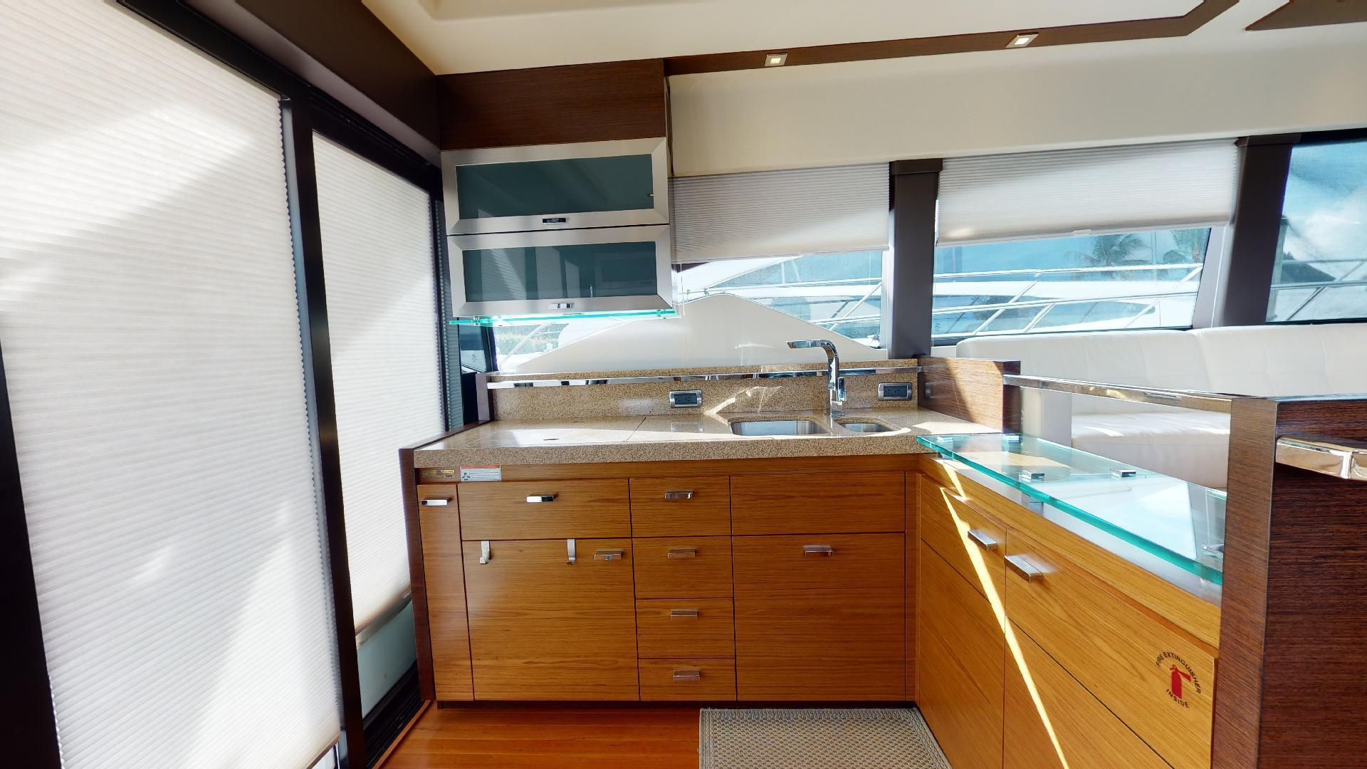 Tiara Yachts-50 Flybridge 2015-Khatch You Later North Palm Beach-Florida-United States-Galley-1509416 | Thumbnail