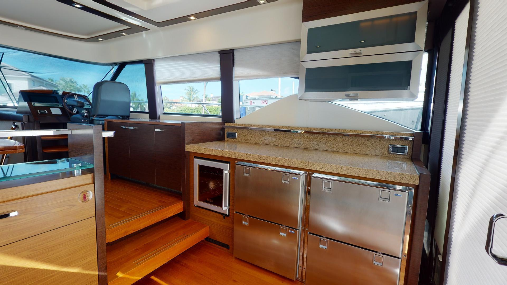 Tiara Yachts-50 Flybridge 2015-Khatch You Later North Palm Beach-Florida-United States-Galley-1509415 | Thumbnail