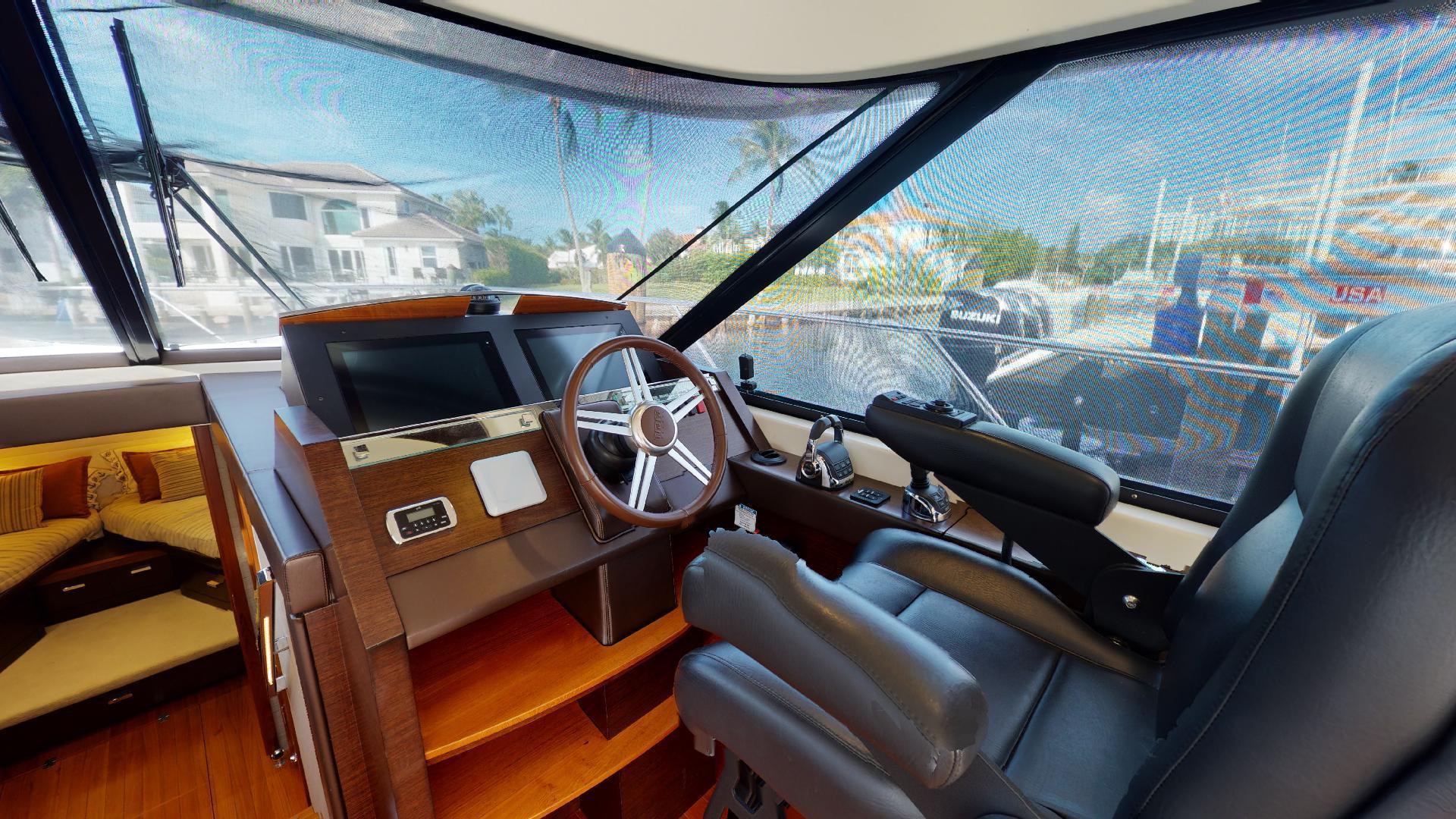 Tiara Yachts-50 Flybridge 2015-Khatch You Later North Palm Beach-Florida-United States-Helm-1509418 | Thumbnail