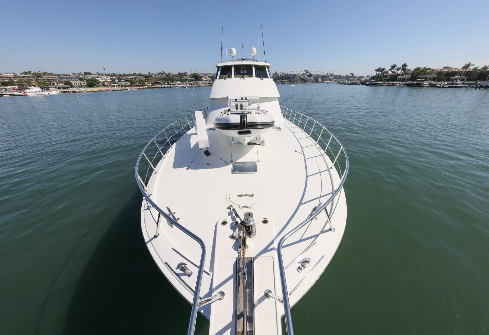 Hatteras-Convertible 1995-LADY LILA Newport Beach-California-United States-BOW-1516285 | Thumbnail
