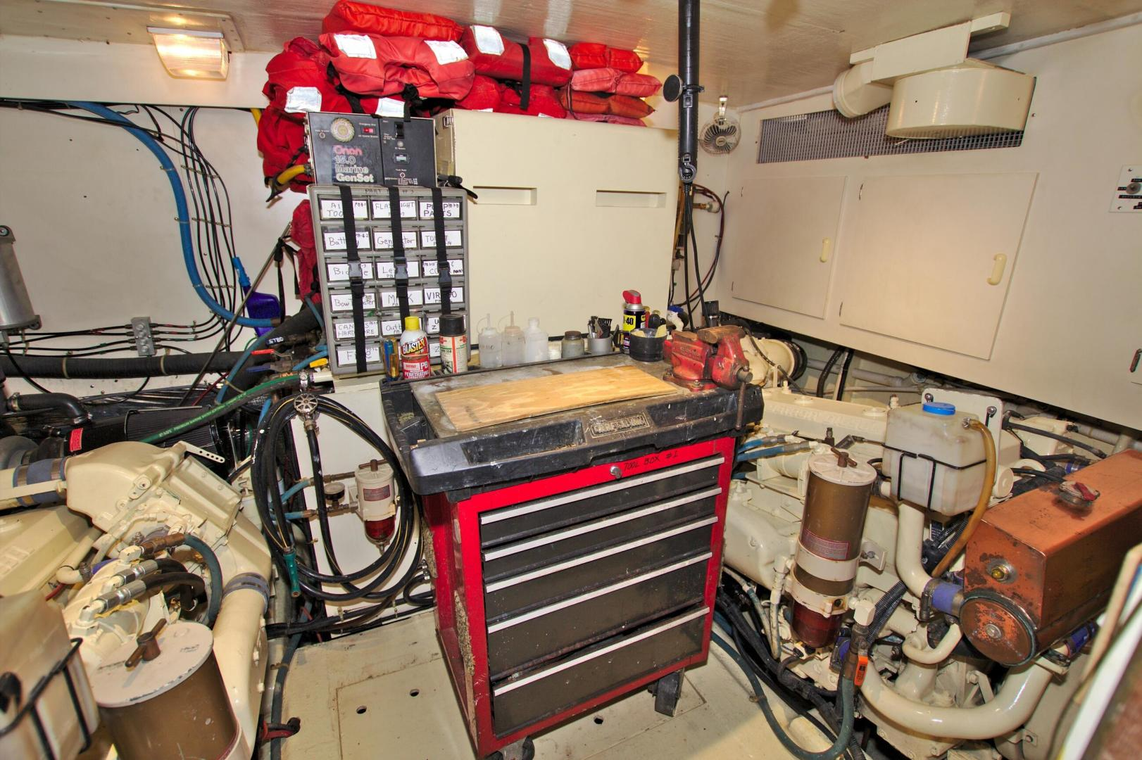Ocean Yachts-48 MOTOR YACHT 1992-Petra Palmetto-Florida-United States-1512943 | Thumbnail
