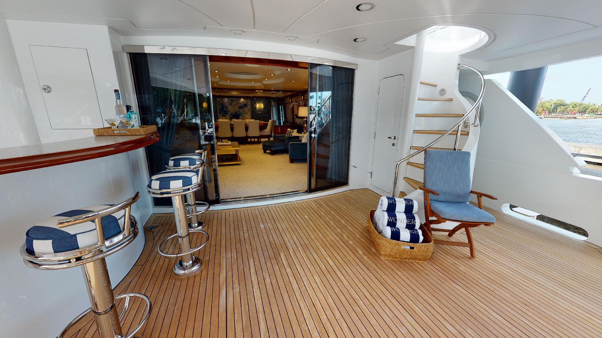 Crescent-Raised Pilothouse 2004-WONDER West Palm Beach-Florida-United States-Aft Deck-1510002 | Thumbnail