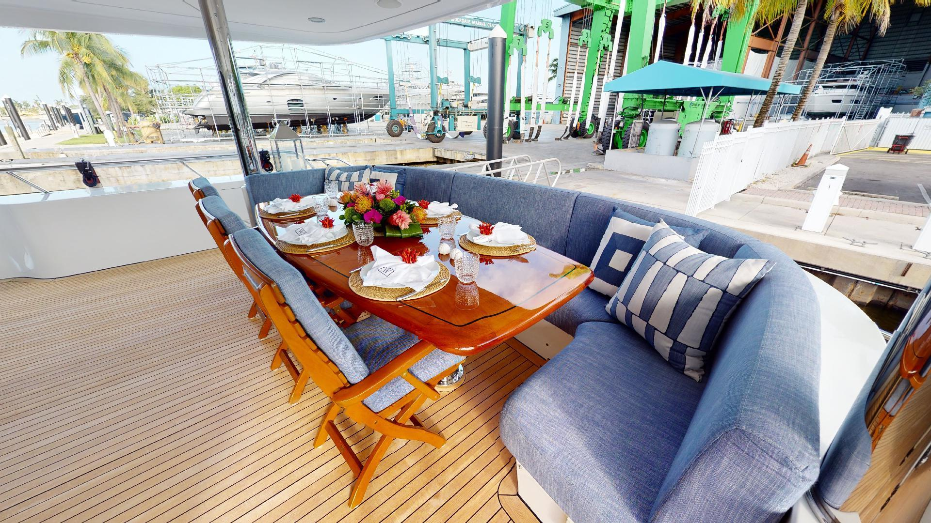 Crescent-Raised Pilothouse 2004-WONDER West Palm Beach-Florida-United States-Aft Deck-1510388 | Thumbnail