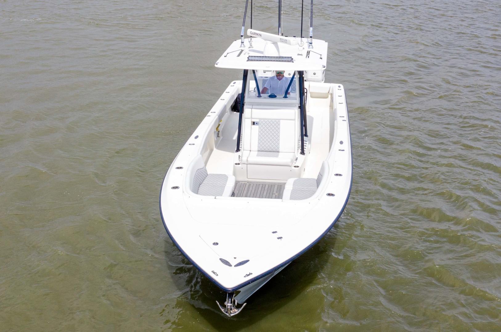 SeaVee-340 B Center Console 2014-Riff Raff Mount Pleasant-South Carolina-United States-Bow Profile-1509706 | Thumbnail