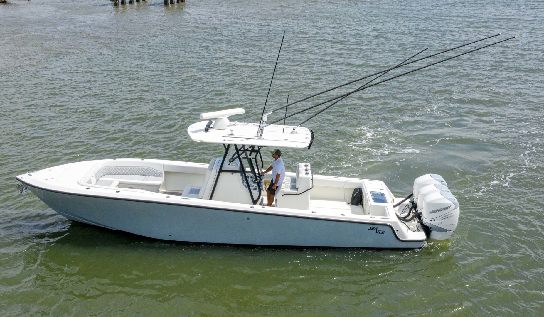 SeaVee-340 B Center Console 2014-Riff Raff Mount Pleasant-South Carolina-United States-Port Profile-1509705 | Thumbnail