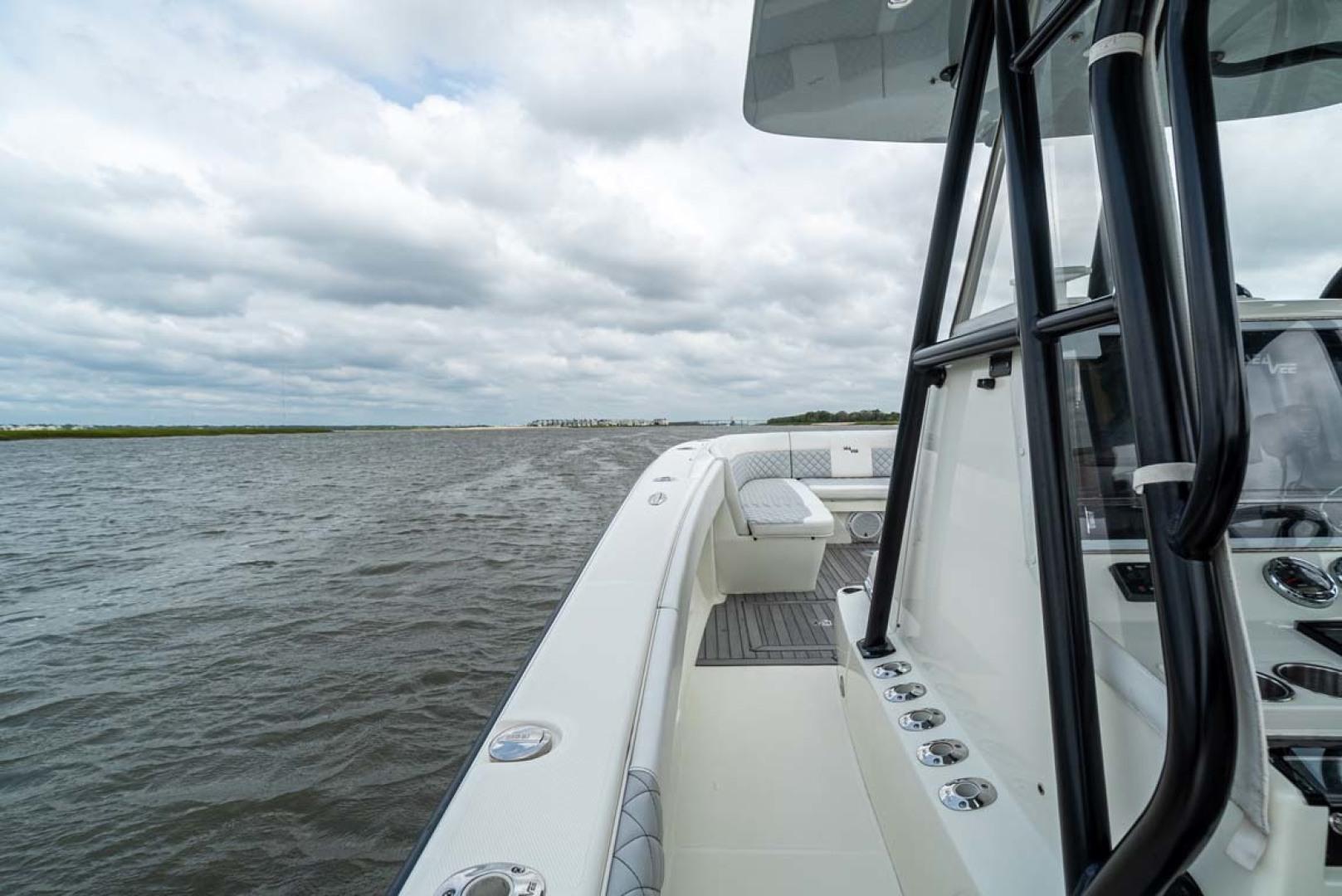 SeaVee-340 B Center Console 2014-Riff Raff Mount Pleasant-South Carolina-United States Port Deck-1509719 | Thumbnail