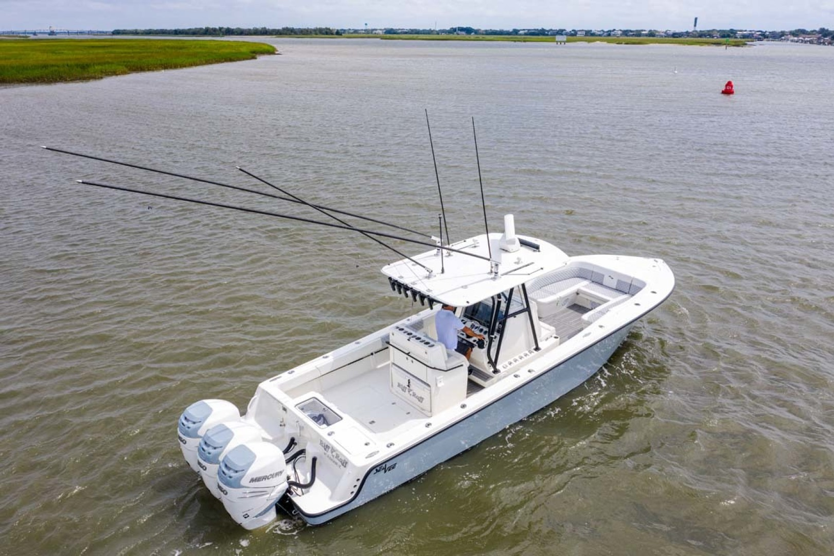 SeaVee-340 B Center Console 2014-Riff Raff Mount Pleasant-South Carolina-United States Deck Profile-1509746 | Thumbnail