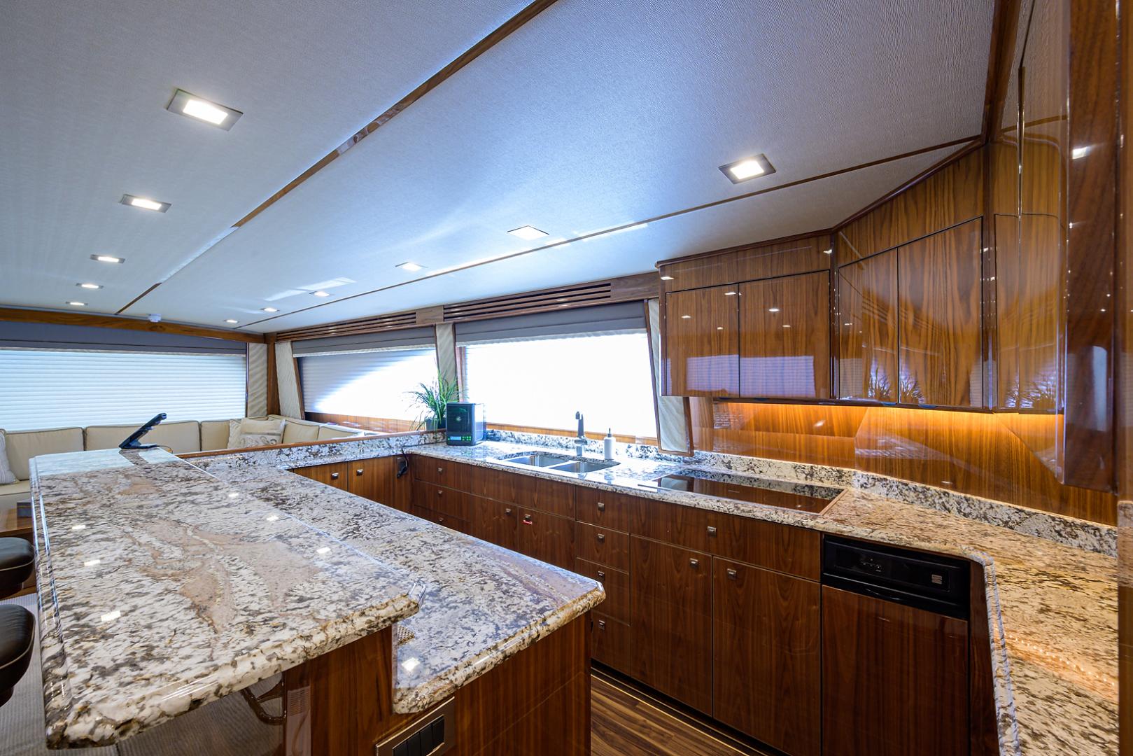 Viking-Enclosed Bridge 2016-LIVE OAK ONE Singer Island-Florida-United States-Galley-1510775   Thumbnail