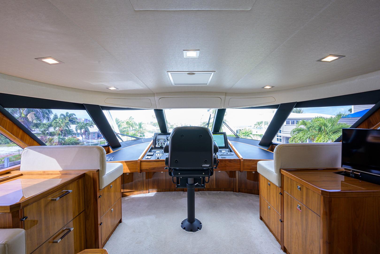 Viking-Enclosed Bridge 2016-LIVE OAK ONE Singer Island-Florida-United States-Enclosed Flybridge-1510897   Thumbnail