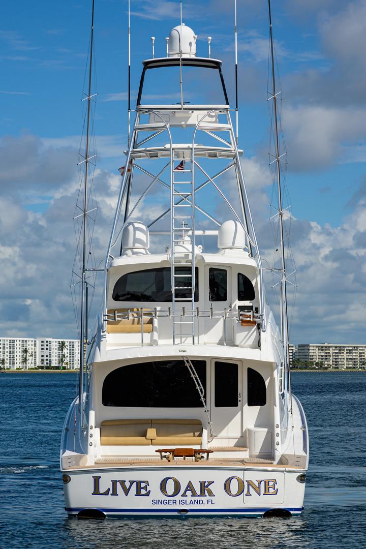 Viking-Enclosed Bridge 2016-LIVE OAK ONE Singer Island-Florida-United States-Aft Profile-1510985   Thumbnail