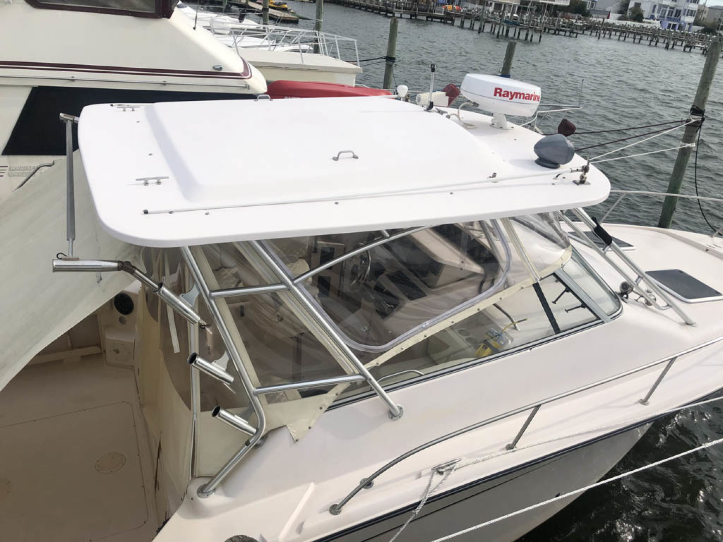 Grady-White-330 Express 2003-Lady L III Long Beach Township-New Jersey-United States-Starboard View   Hardtop-1510555 | Thumbnail