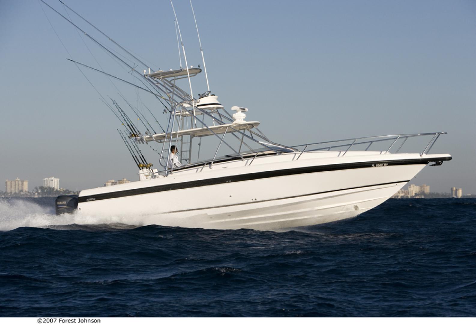 Intrepid-377 Walkaround 2005-Rock Boat REFIT 2018 Dania Beach-Florida-United States-377 Intrepid Profile-1539582 | Thumbnail