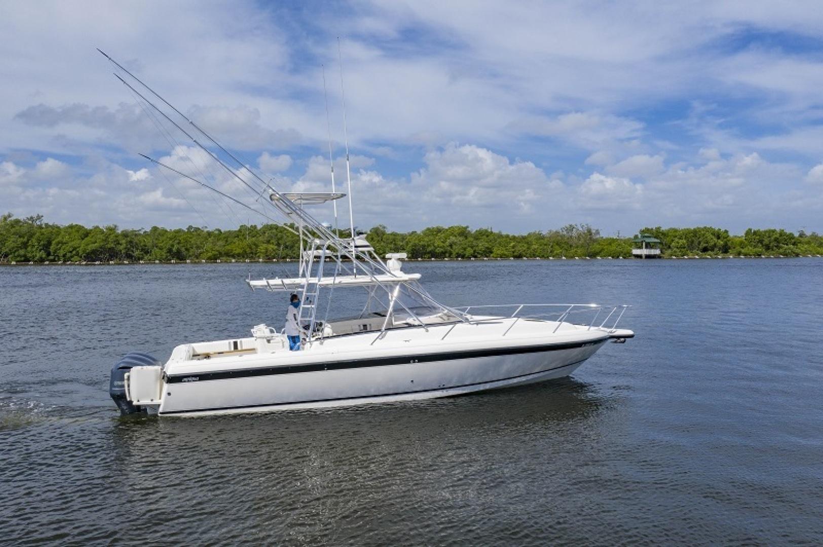 Intrepid-377 Walkaround 2005-Rock Boat REFIT 2018 Dania Beach-Florida-United States-377 Intrepid Profile-1511399 | Thumbnail