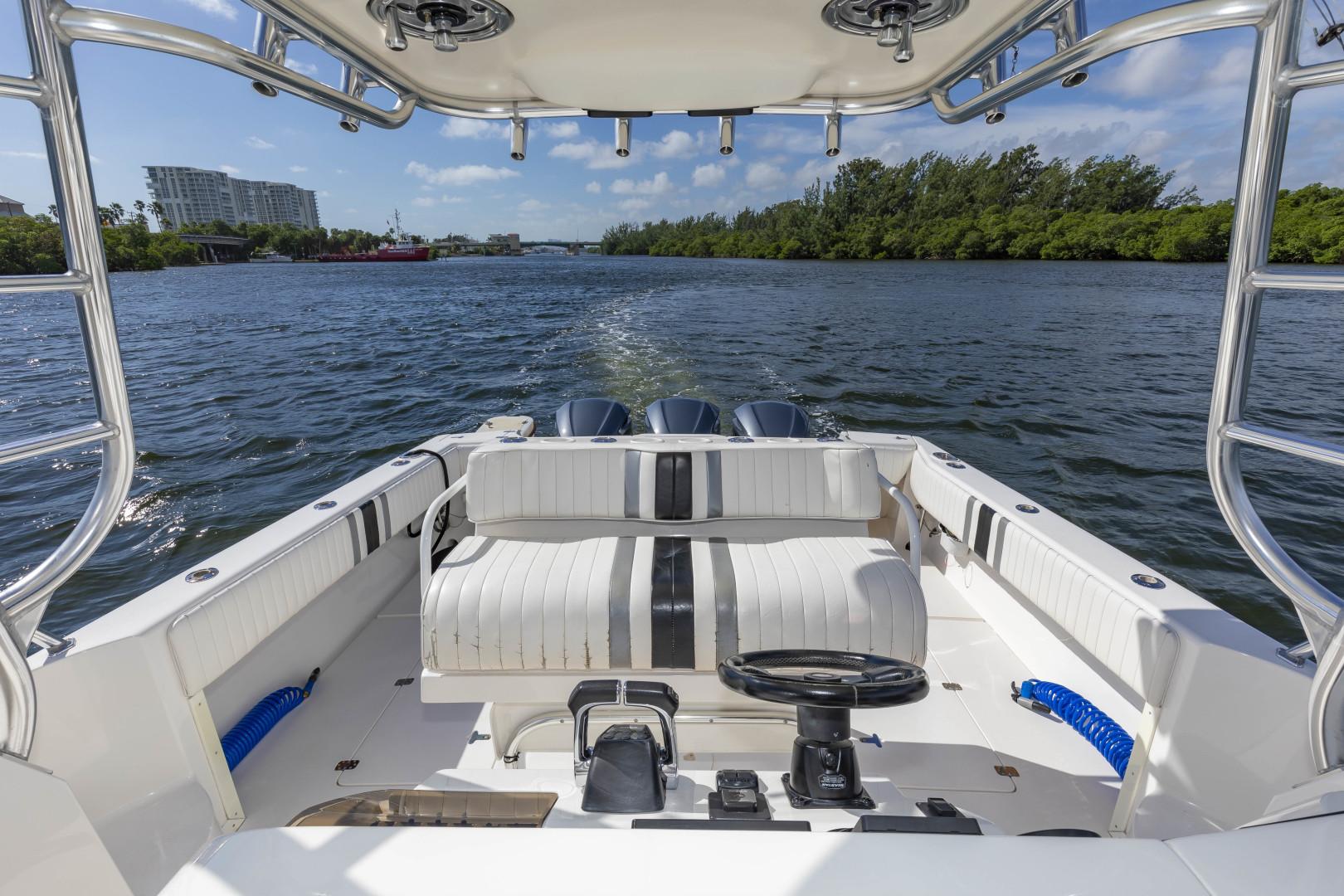 Intrepid-377 Walkaround 2005-Rock Boat REFIT 2018 Dania Beach-Florida-United States-377 Intrepid Helm 4-1511547 | Thumbnail