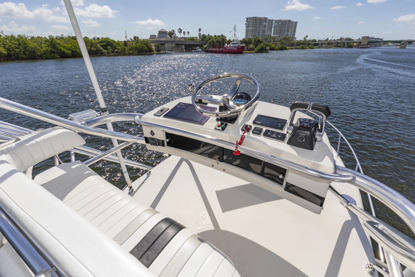Intrepid-377 Walkaround 2005-Rock Boat REFIT 2018 Dania Beach-Florida-United States-377 Intrepid Tower 2-1511559 | Thumbnail