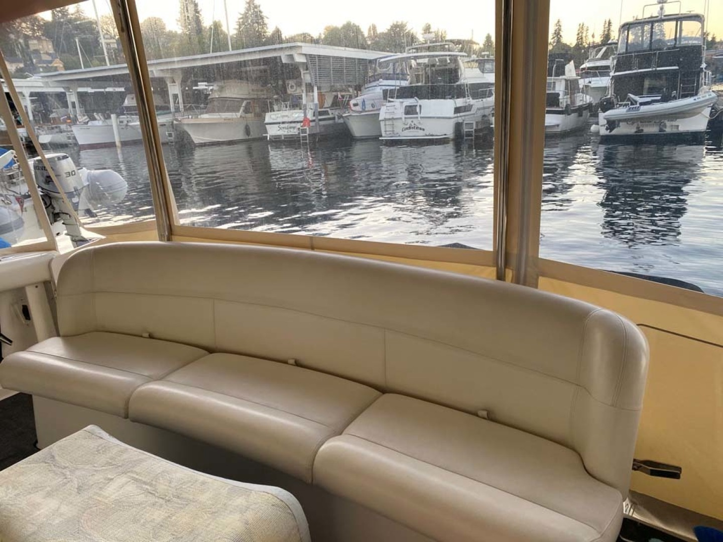 Tiara Yachts-Express 1998-Problem Child Seattle-Washington-United States-Aft Bench Seat-1511412 | Thumbnail