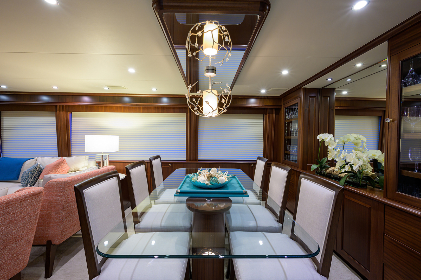Pacific Mariner-Motor Yacht 2009-Celebrate North Palm Beach-Florida-United States-Dining-1512293 | Thumbnail