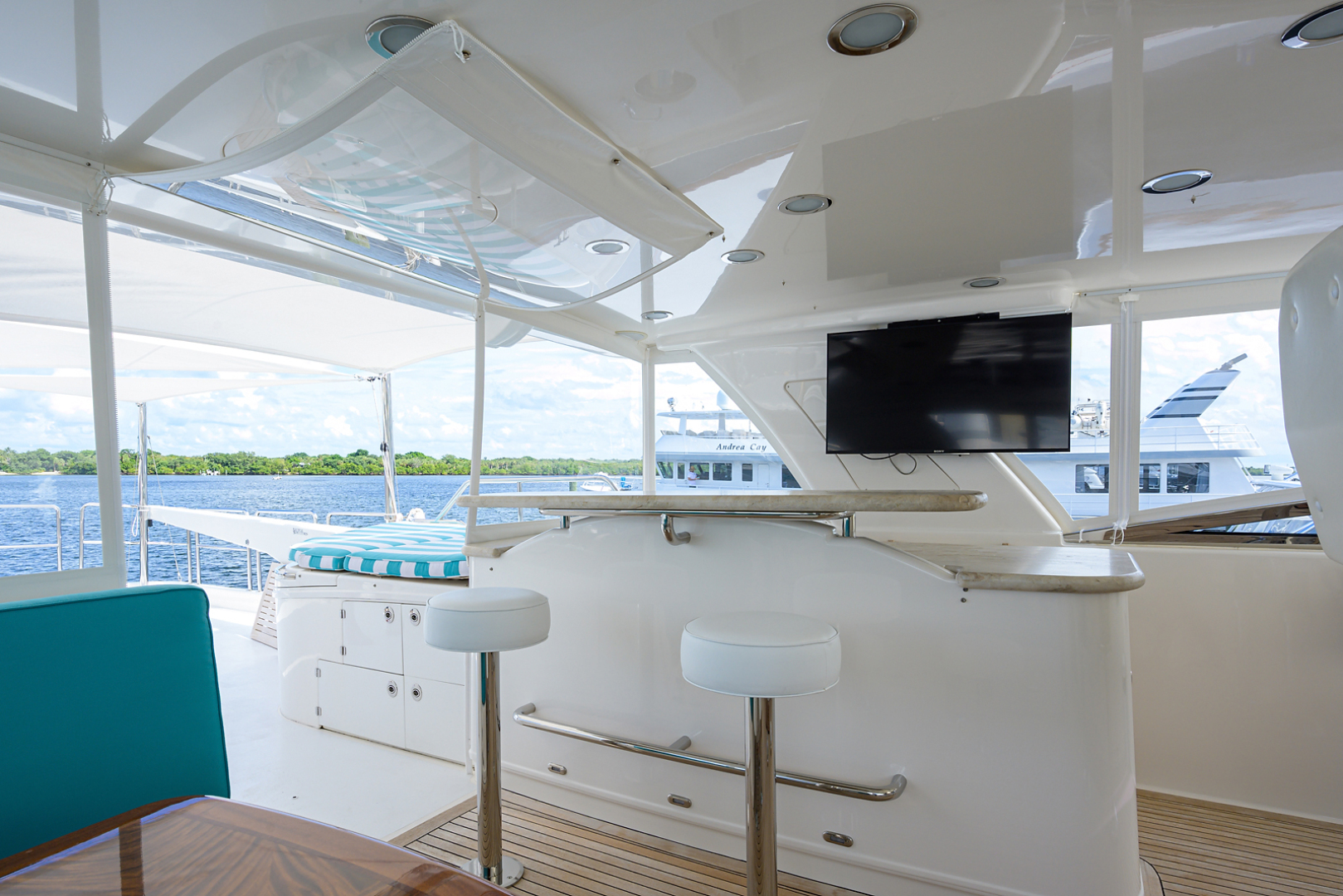 Pacific Mariner-Motor Yacht 2009-Celebrate North Palm Beach-Florida-United States-Flybridge-1515897 | Thumbnail