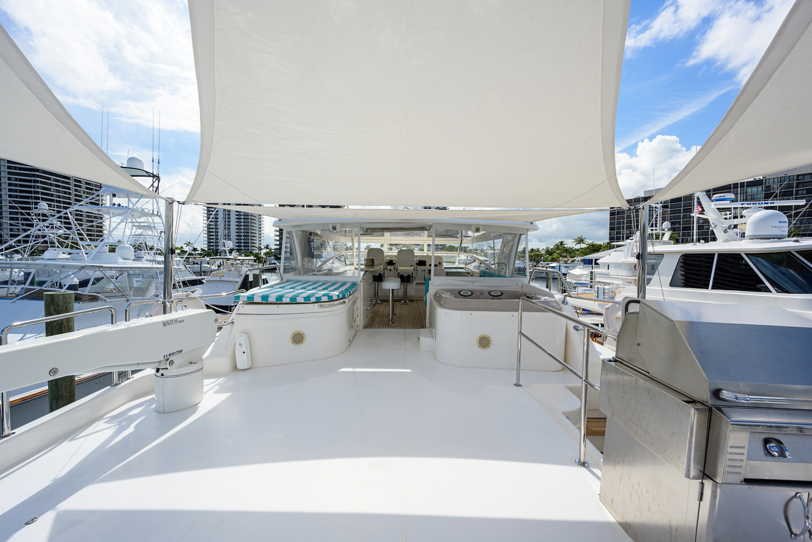 Pacific Mariner-Motor Yacht 2009-Celebrate North Palm Beach-Florida-United States-Flybridge-1515882 | Thumbnail