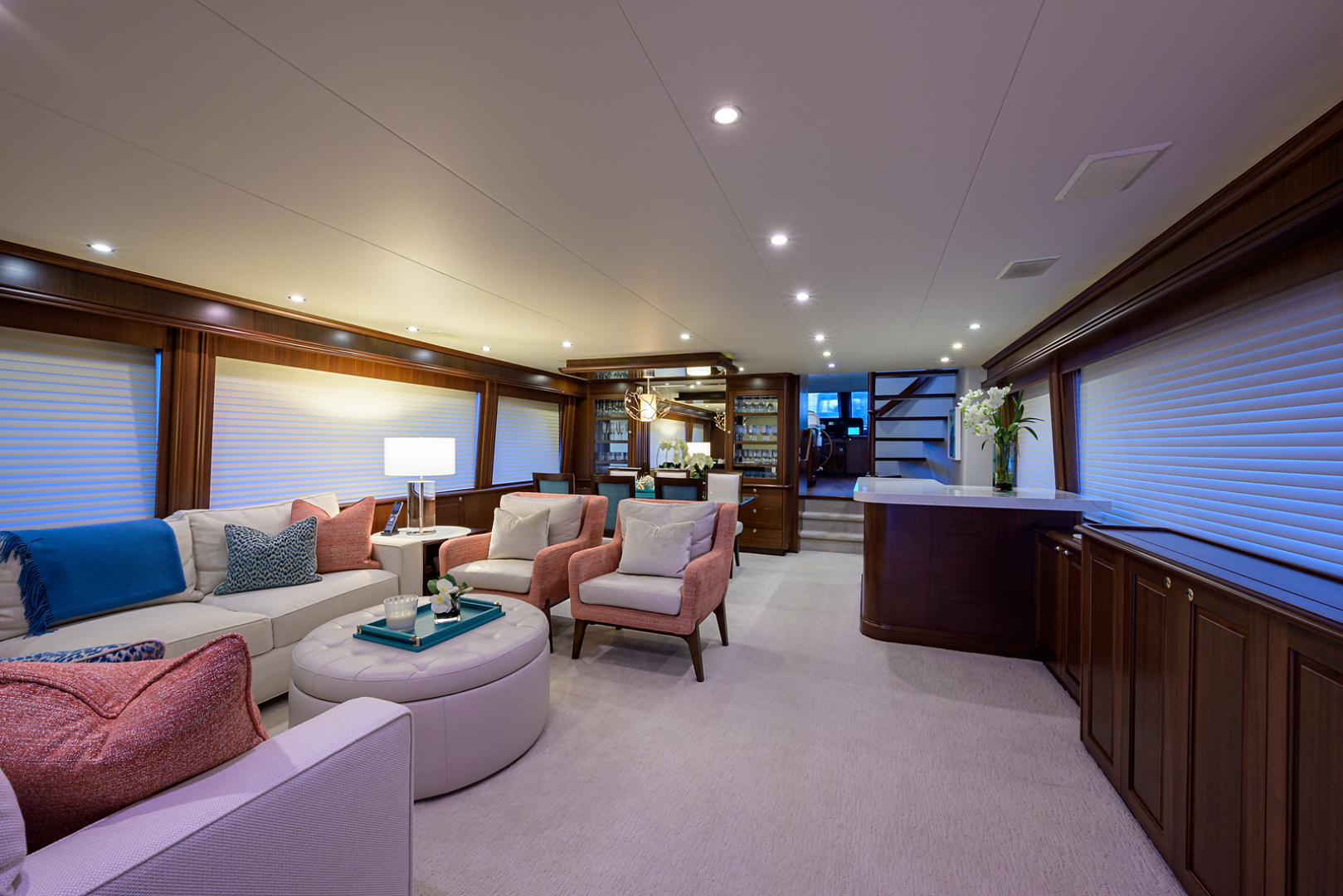 Pacific Mariner-Motor Yacht 2009-Celebrate North Palm Beach-Florida-United States-Salon-1512279 | Thumbnail