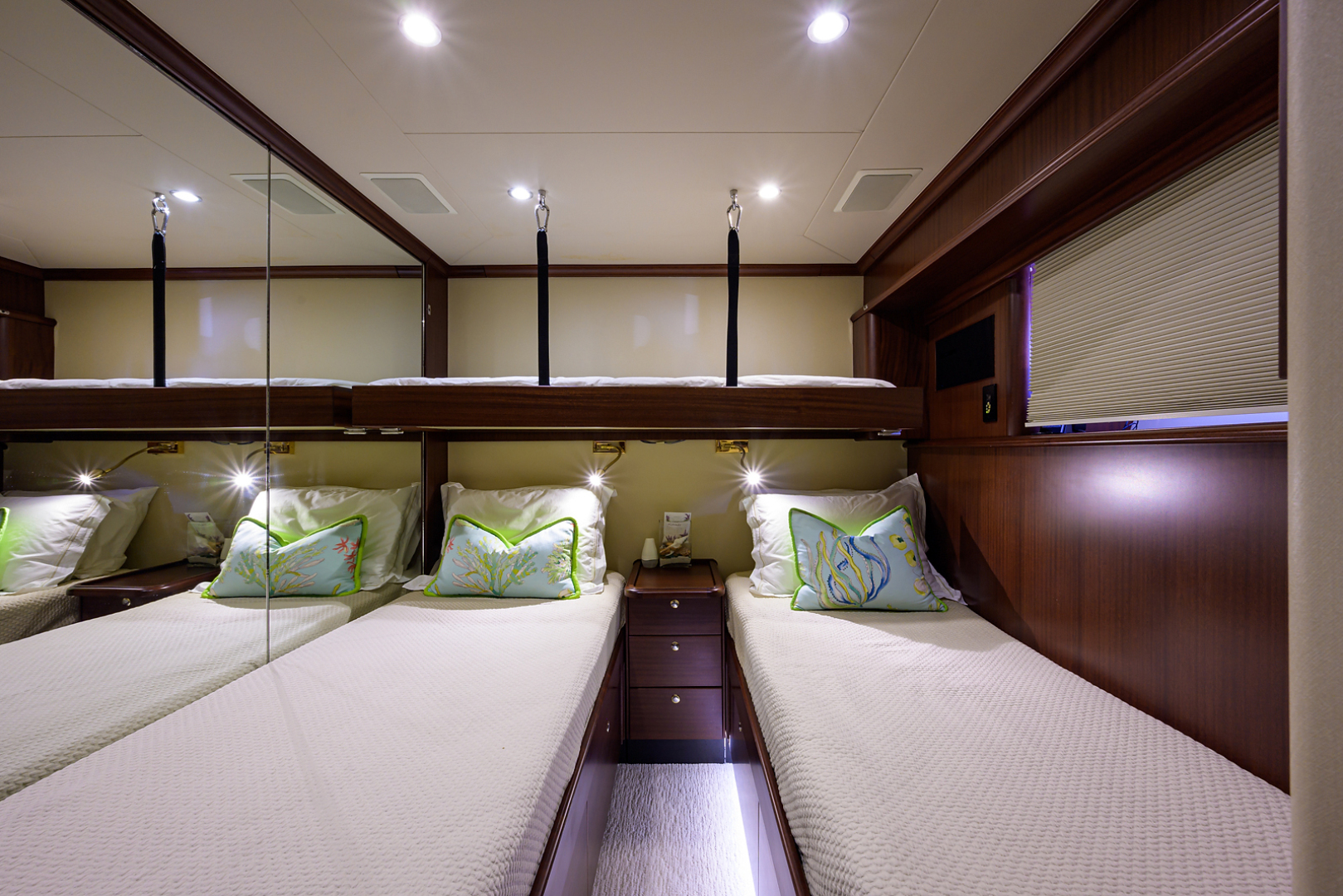 Pacific Mariner-Motor Yacht 2009-Celebrate North Palm Beach-Florida-United States-Port Guest Stateroom-1512339 | Thumbnail