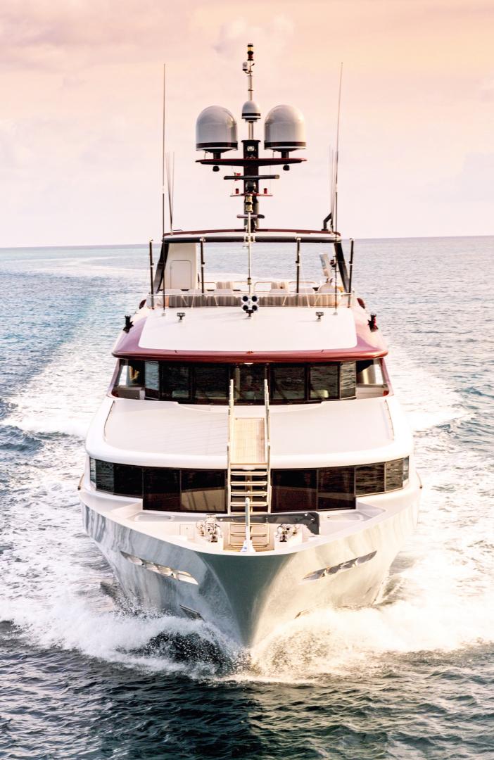 Trinity Yachts-164 Tri-deck Motor Yacht 2008-Amarula Sun Fort Lauderdale-Florida-United States-Under Way-1514512 | Thumbnail