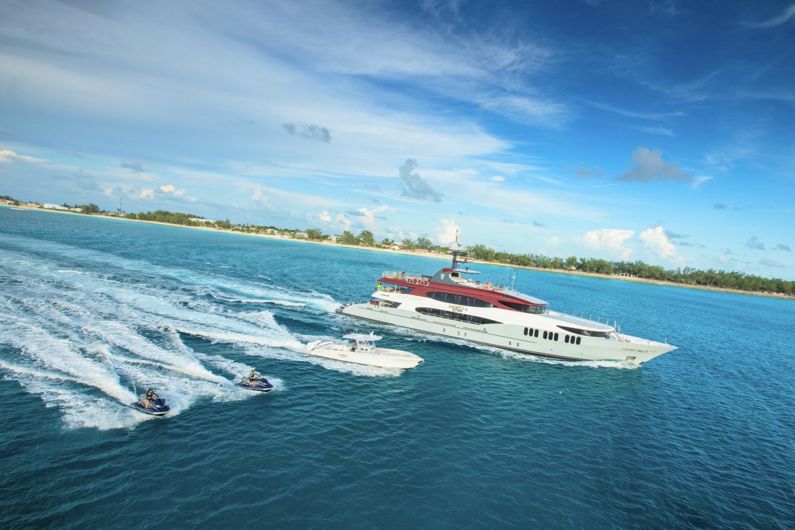 Trinity Yachts-164 Tri-deck Motor Yacht 2008-Amarula Sun Fort Lauderdale-Florida-United States-Amarula Sun And Water Toys-1513901 | Thumbnail