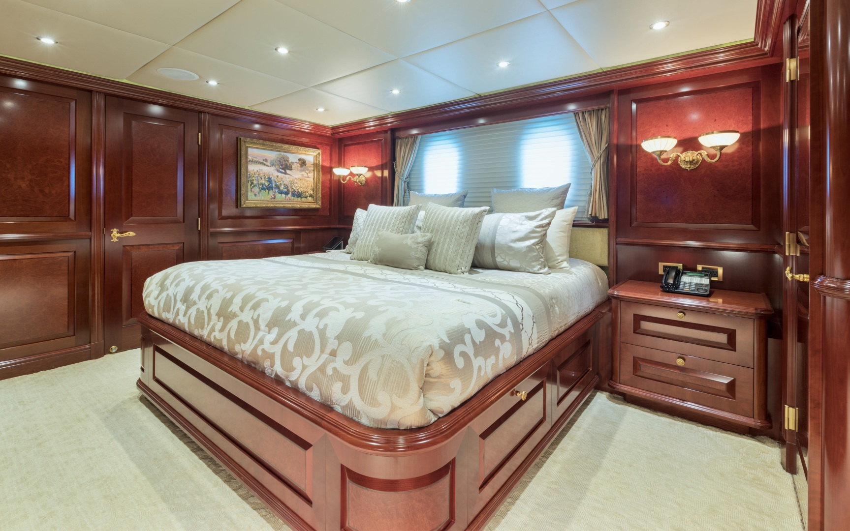 Trinity Yachts-164 Tri-deck Motor Yacht 2008-Amarula Sun Fort Lauderdale-Florida-United States-Guest Suite Aft Starboard-1513912 | Thumbnail