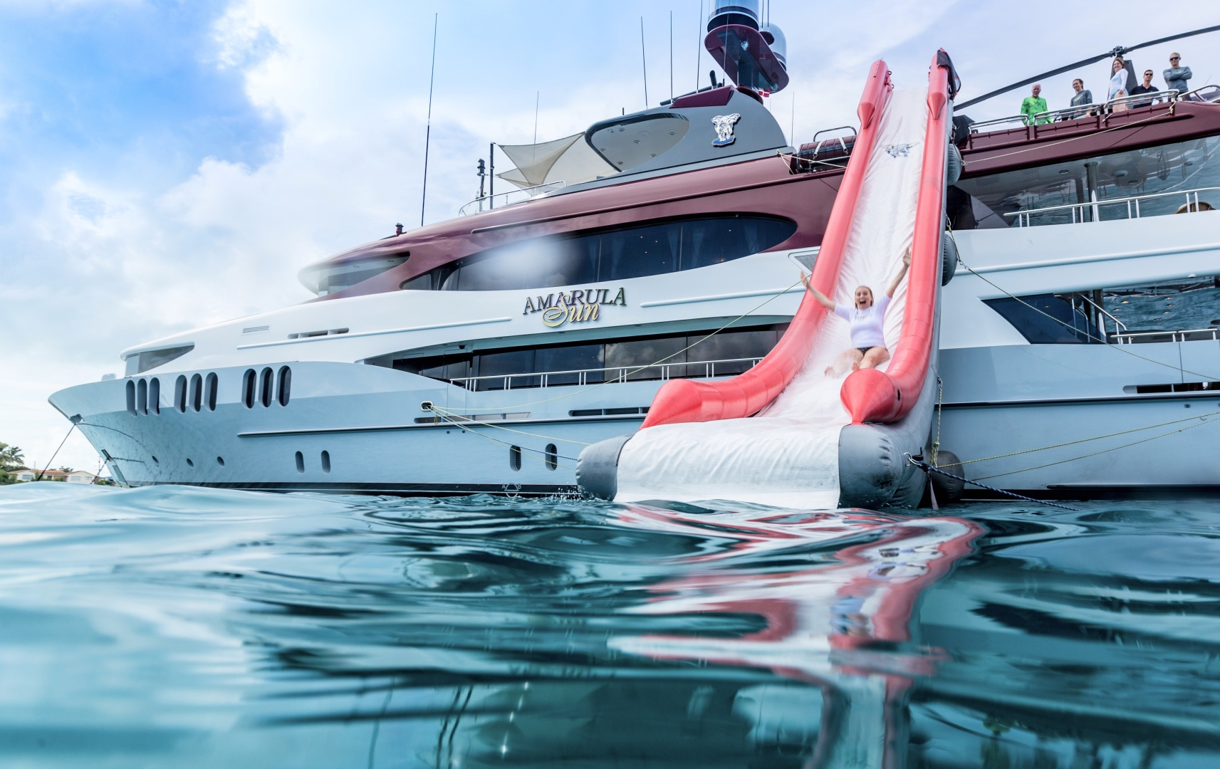 Trinity Yachts-164 Tri-deck Motor Yacht 2008-Amarula Sun Fort Lauderdale-Florida-United States-Water Slide-1513966 | Thumbnail