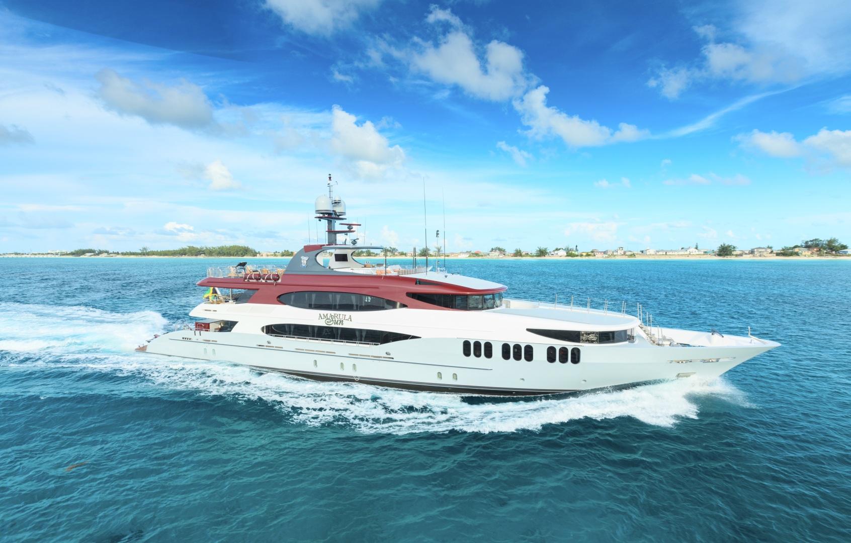 Trinity Yachts-164 Tri-deck Motor Yacht 2008-Amarula Sun Fort Lauderdale-Florida-United States-Running Starboard-1513946 | Thumbnail