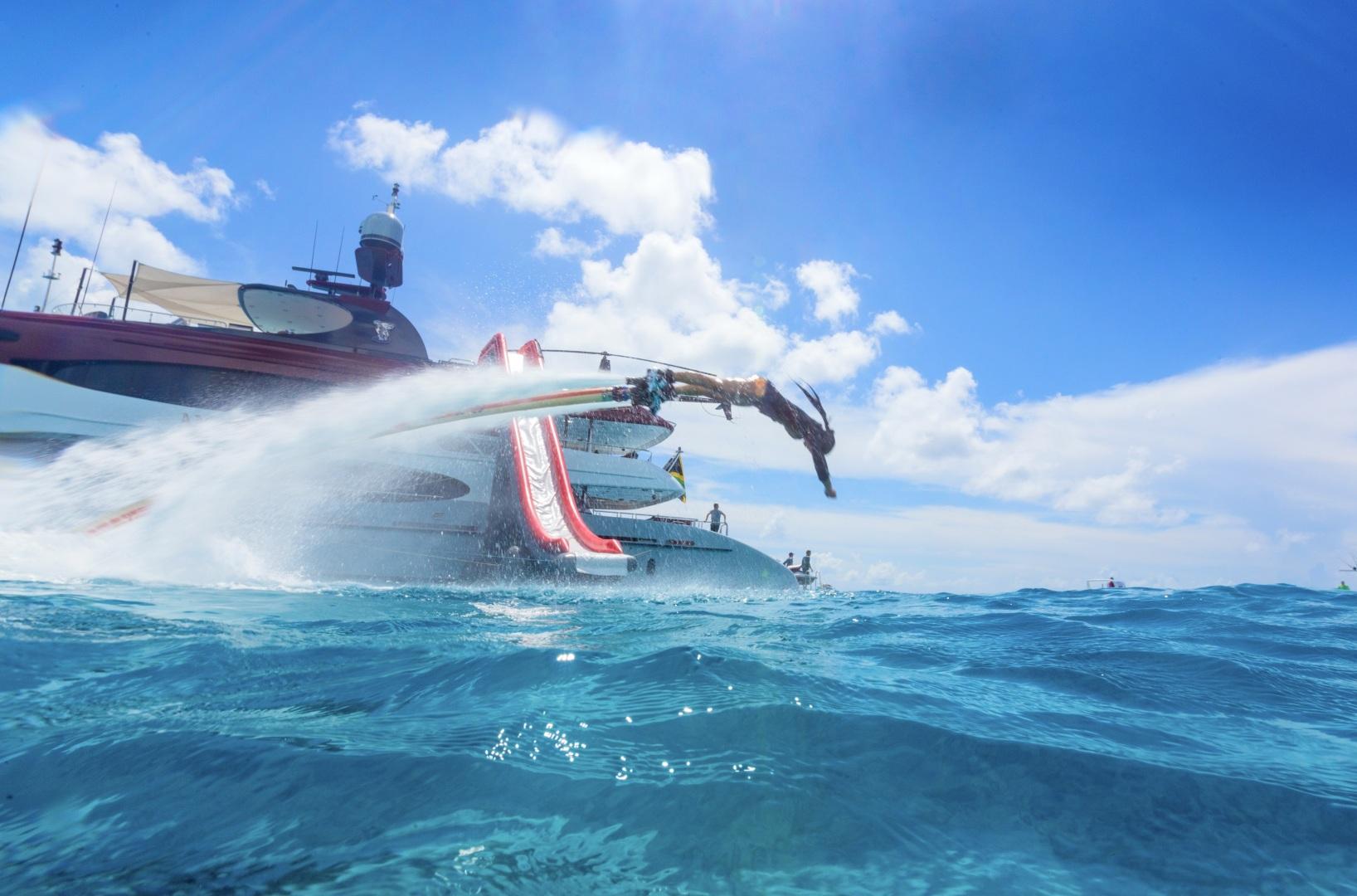 Trinity Yachts-164 Tri-deck Motor Yacht 2008-Amarula Sun Fort Lauderdale-Florida-United States-Flyboard-1513918 | Thumbnail