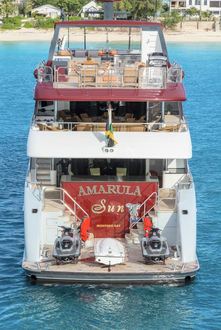 Trinity Yachts-164 Tri-deck Motor Yacht 2008-Amarula Sun Fort Lauderdale-Florida-United States-Aft View-1513898 | Thumbnail
