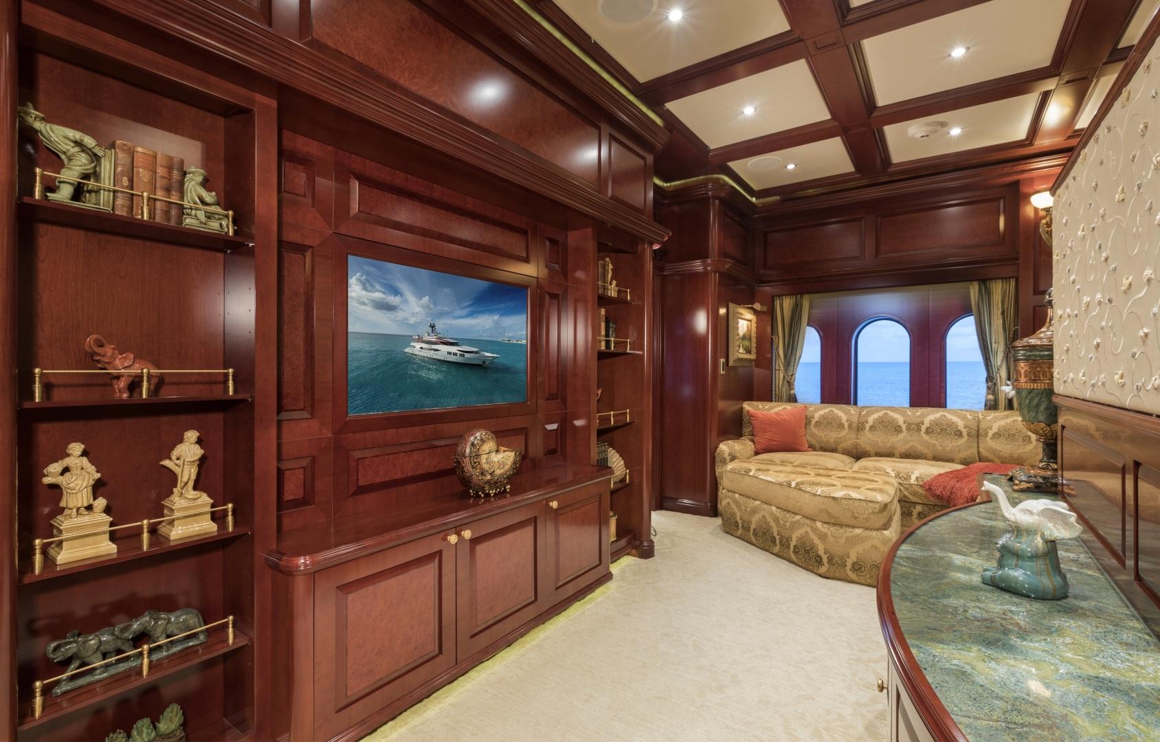 Trinity Yachts-164 Tri-deck Motor Yacht 2008-Amarula Sun Fort Lauderdale-Florida-United States-Master Suite   Sitting Area-1513929 | Thumbnail