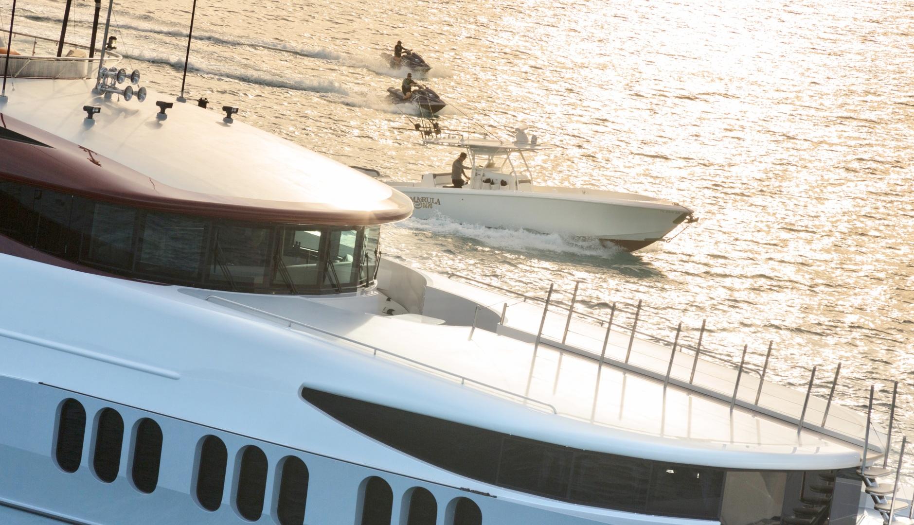 Trinity Yachts-164 Tri-deck Motor Yacht 2008-Amarula Sun Fort Lauderdale-Florida-United States-Exterior View Of Bridge-1513907 | Thumbnail