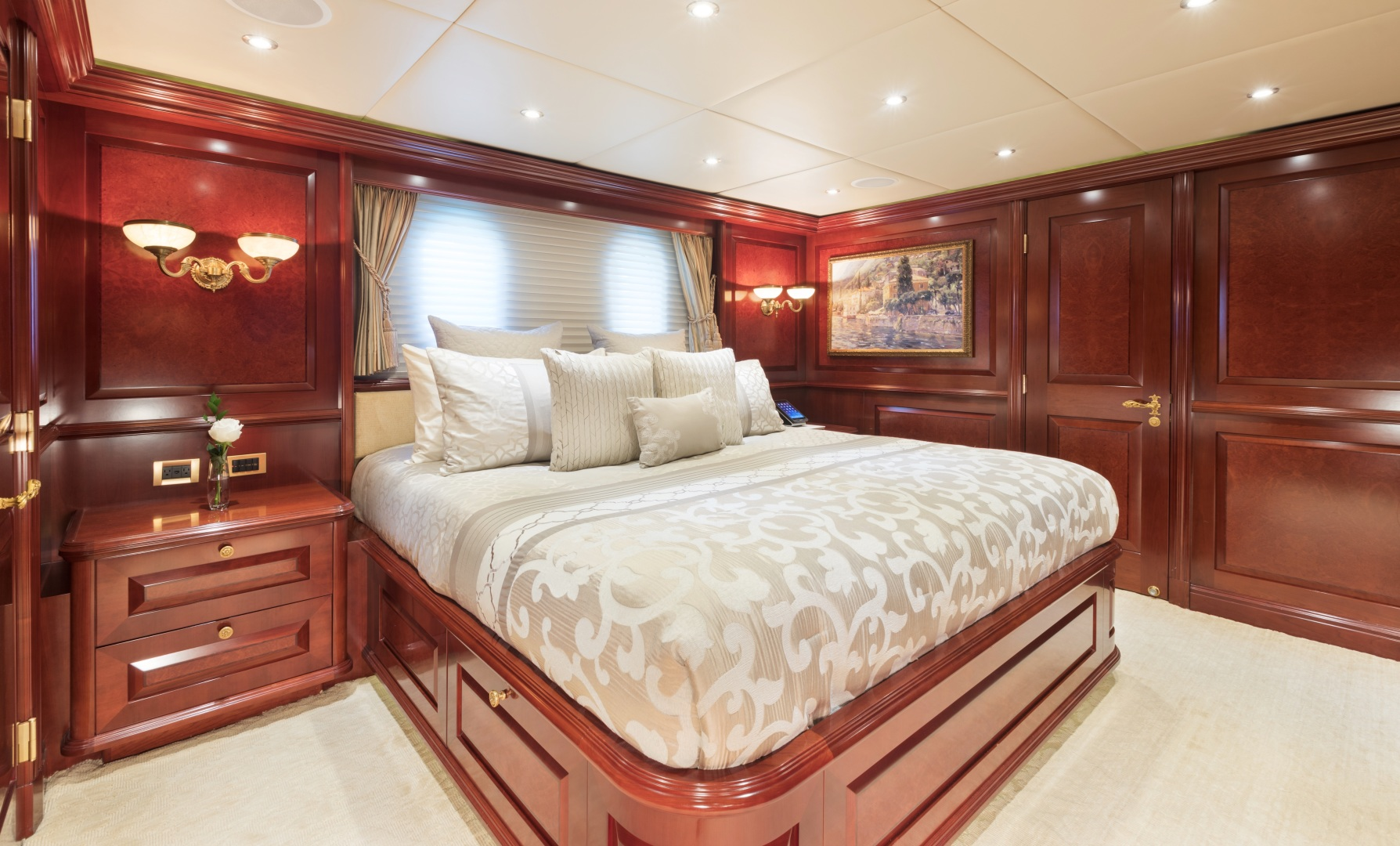 Trinity Yachts-164 Tri-deck Motor Yacht 2008-Amarula Sun Fort Lauderdale-Florida-United States-Port Aft Guest Suite-1513935 | Thumbnail