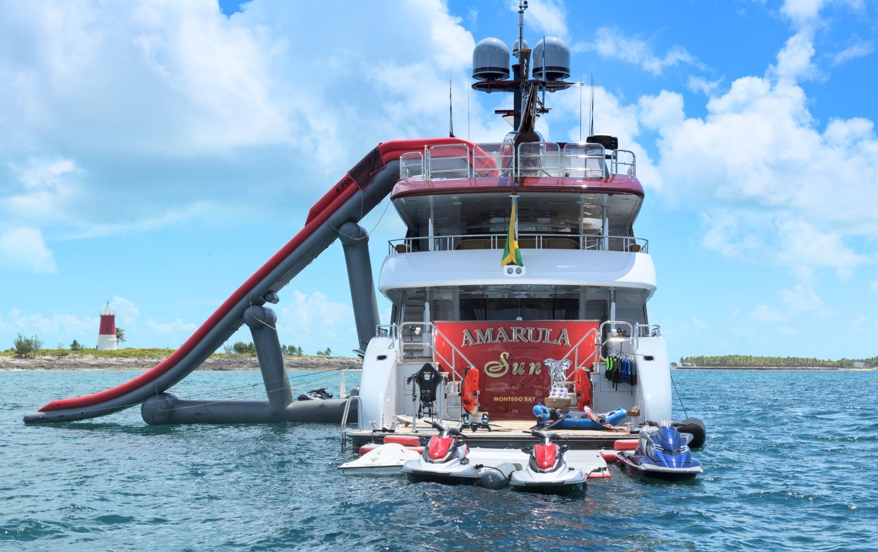 Trinity Yachts-164 Tri-deck Motor Yacht 2008-Amarula Sun Fort Lauderdale-Florida-United States-Beach Club Water Toys -1513967 | Thumbnail
