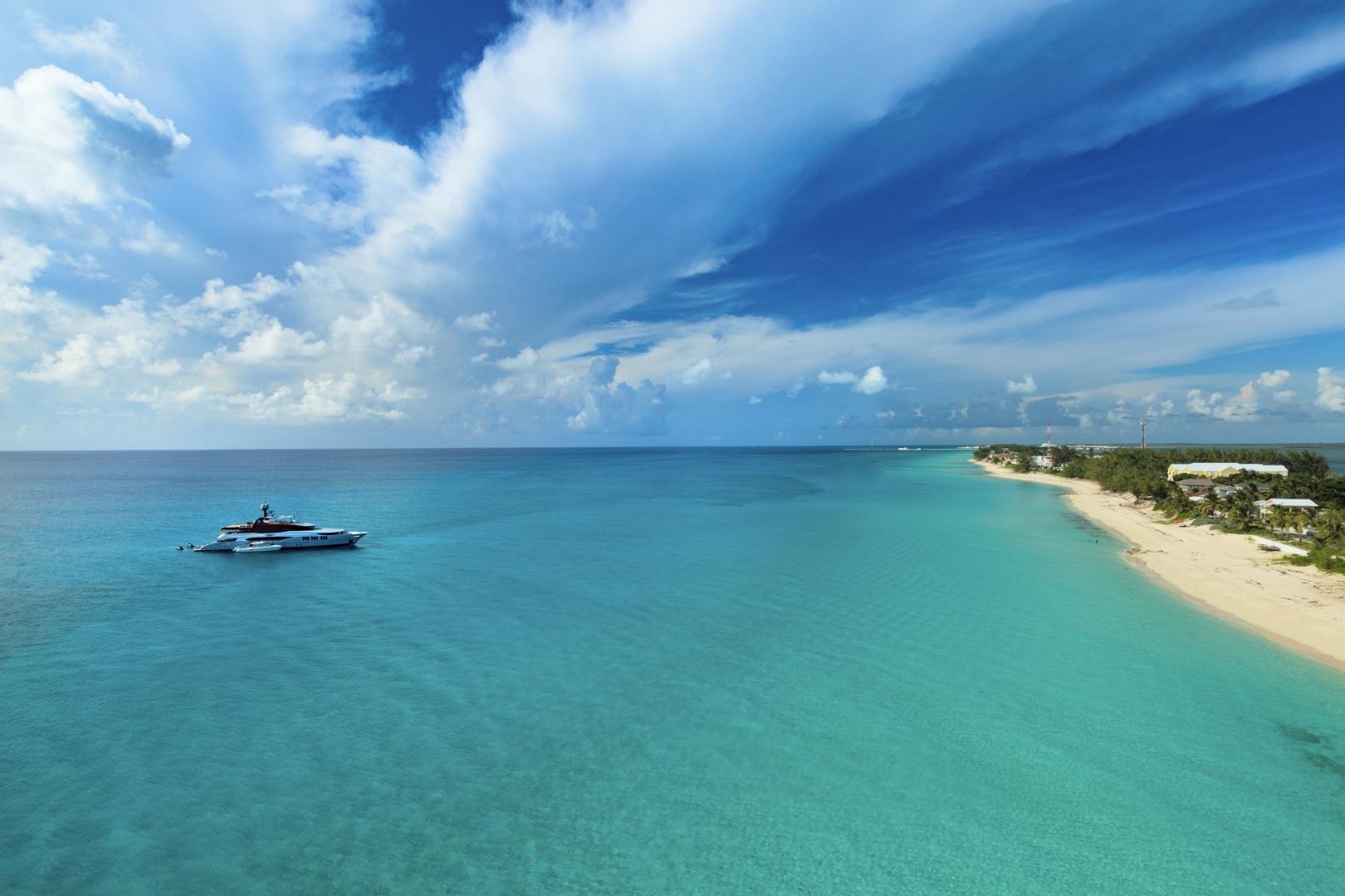Trinity Yachts-164 Tri-deck Motor Yacht 2008-Amarula Sun Fort Lauderdale-Florida-United States-Aerial View-1513902 | Thumbnail