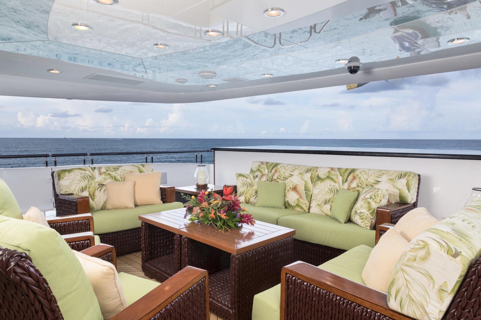 Trinity Yachts-164 Tri-deck Motor Yacht 2008-Amarula Sun Fort Lauderdale-Florida-United States-Aft Deck-1513896 | Thumbnail