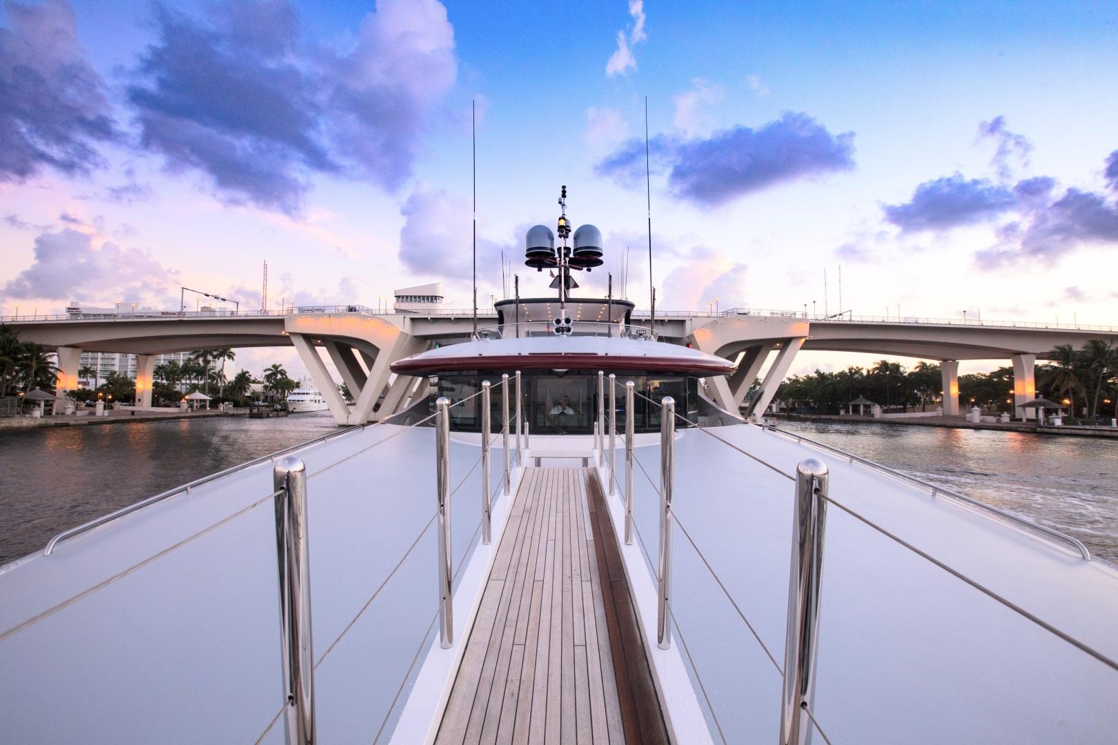 Trinity Yachts-164 Tri-deck Motor Yacht 2008-Amarula Sun Fort Lauderdale-Florida-United States-Bow-1513904 | Thumbnail