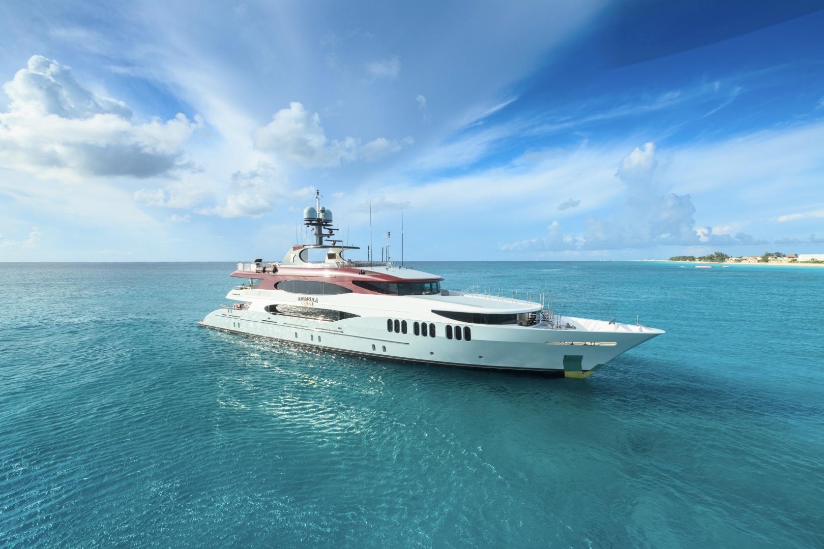 Trinity Yachts-164 Tri-deck Motor Yacht 2008-Amarula Sun Fort Lauderdale-Florida-United States-Starboard Profile-1513954 | Thumbnail