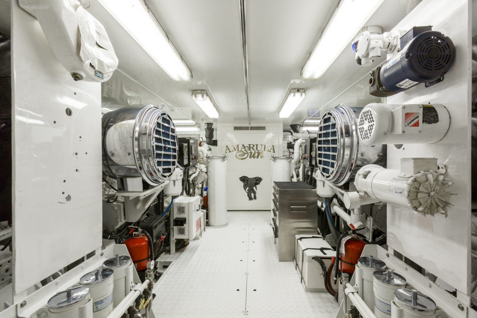 Trinity Yachts-164 Tri-deck Motor Yacht 2008-Amarula Sun Fort Lauderdale-Florida-United States-Engine Room-1514026 | Thumbnail