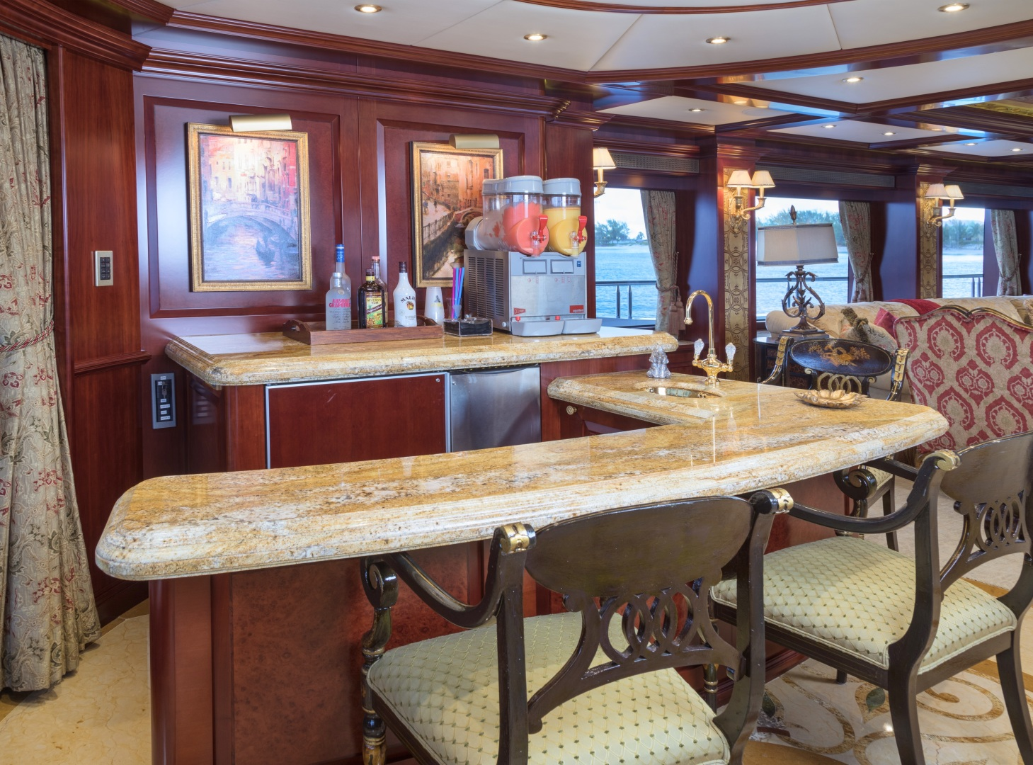 Trinity Yachts-164 Tri-deck Motor Yacht 2008-Amarula Sun Fort Lauderdale-Florida-United States-Main Deck Bar-1513920 | Thumbnail