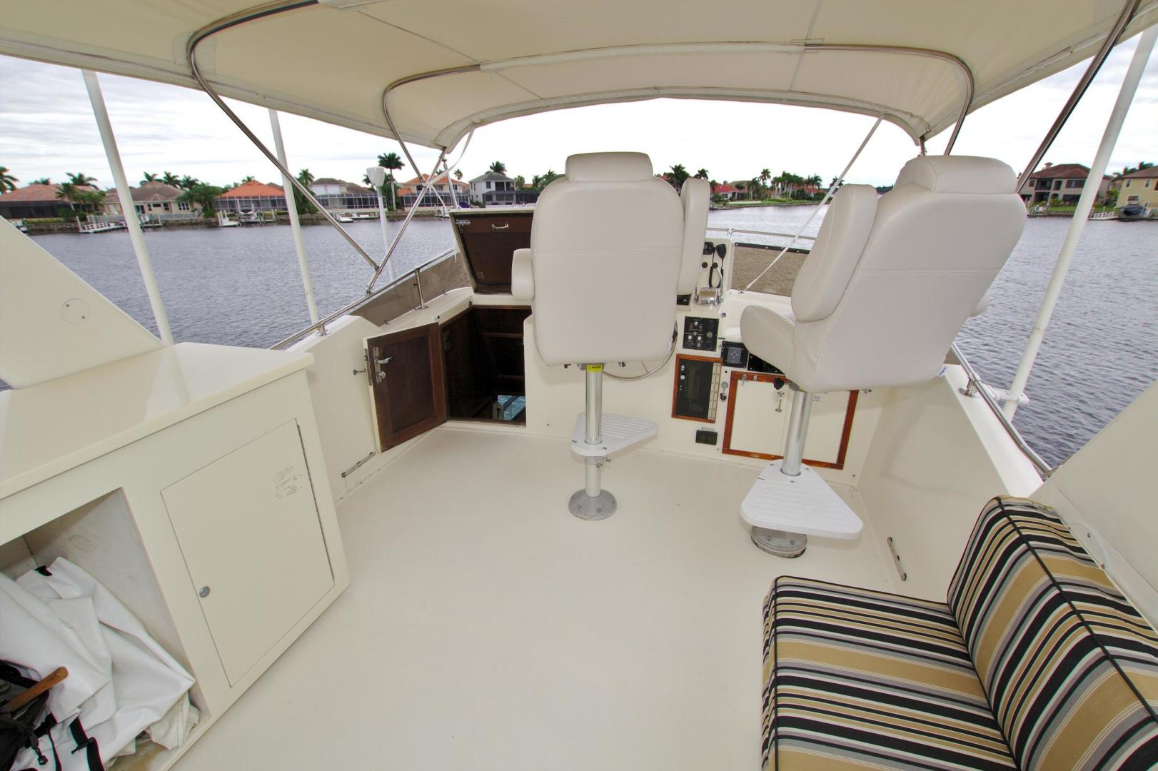 Hatteras-53 Extended Deckhouse Motor Yacht 1983-Luv Options Palmetto-Florida-United States-1512985 | Thumbnail