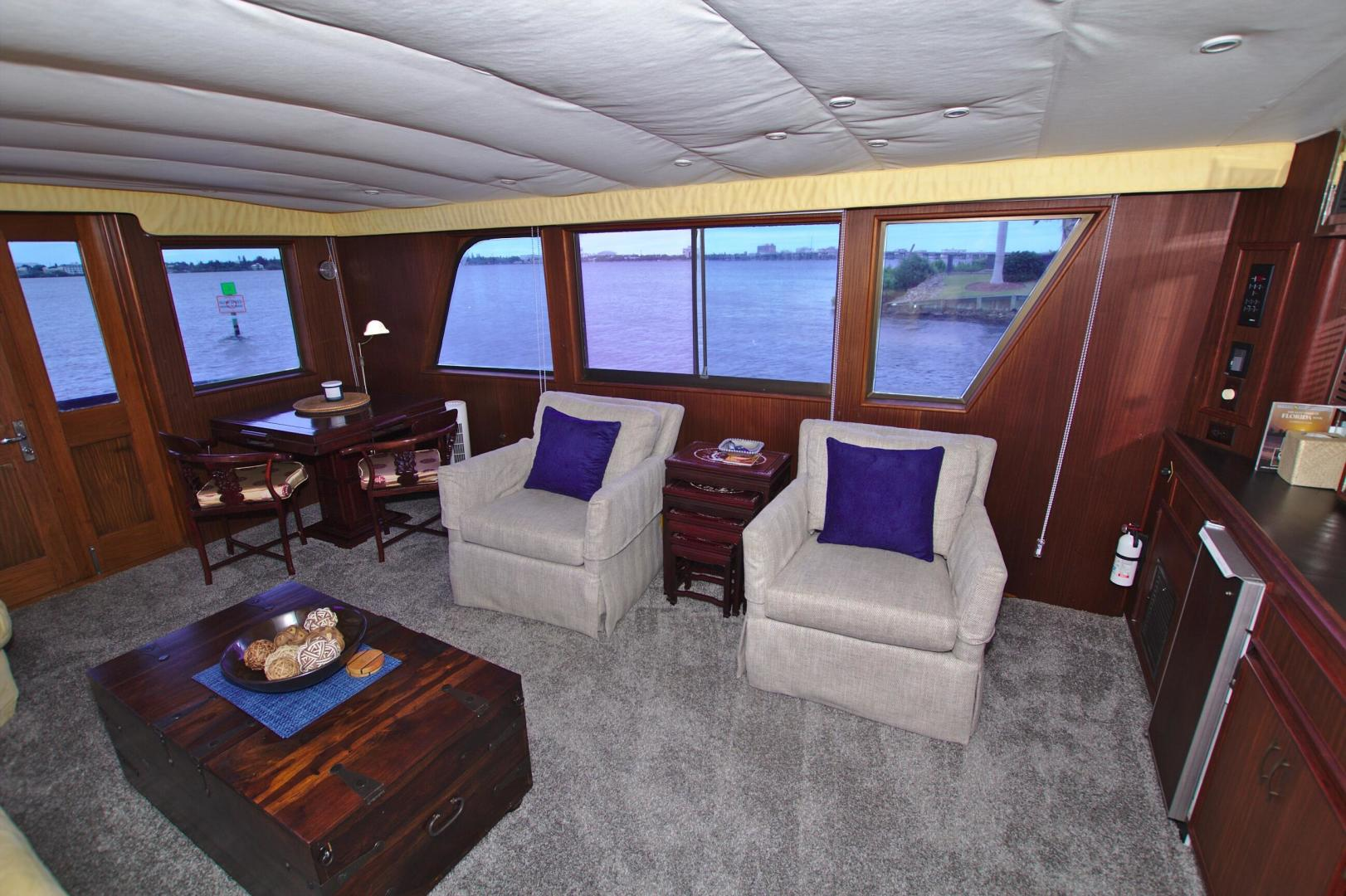 Hatteras-53 Extended Deckhouse Motor Yacht 1983-Luv Options Palmetto-Florida-United States-1512994 | Thumbnail