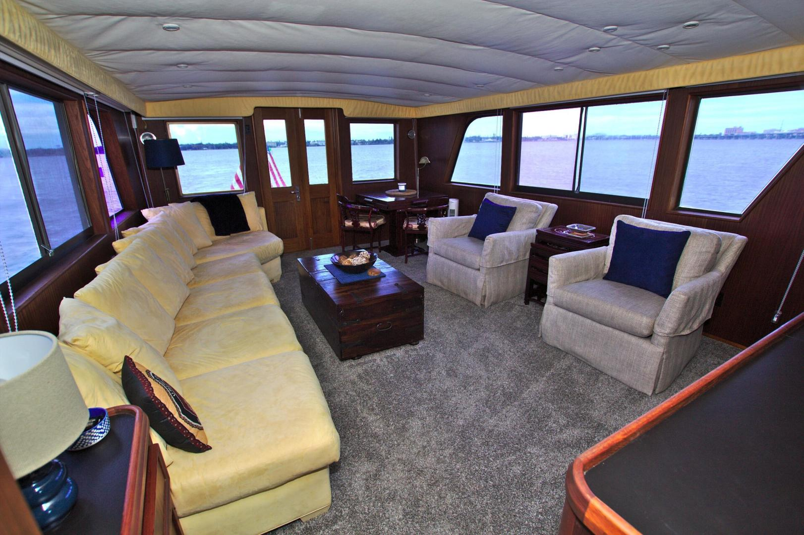Hatteras-53 Extended Deckhouse Motor Yacht 1983-Luv Options Palmetto-Florida-United States-1512992 | Thumbnail